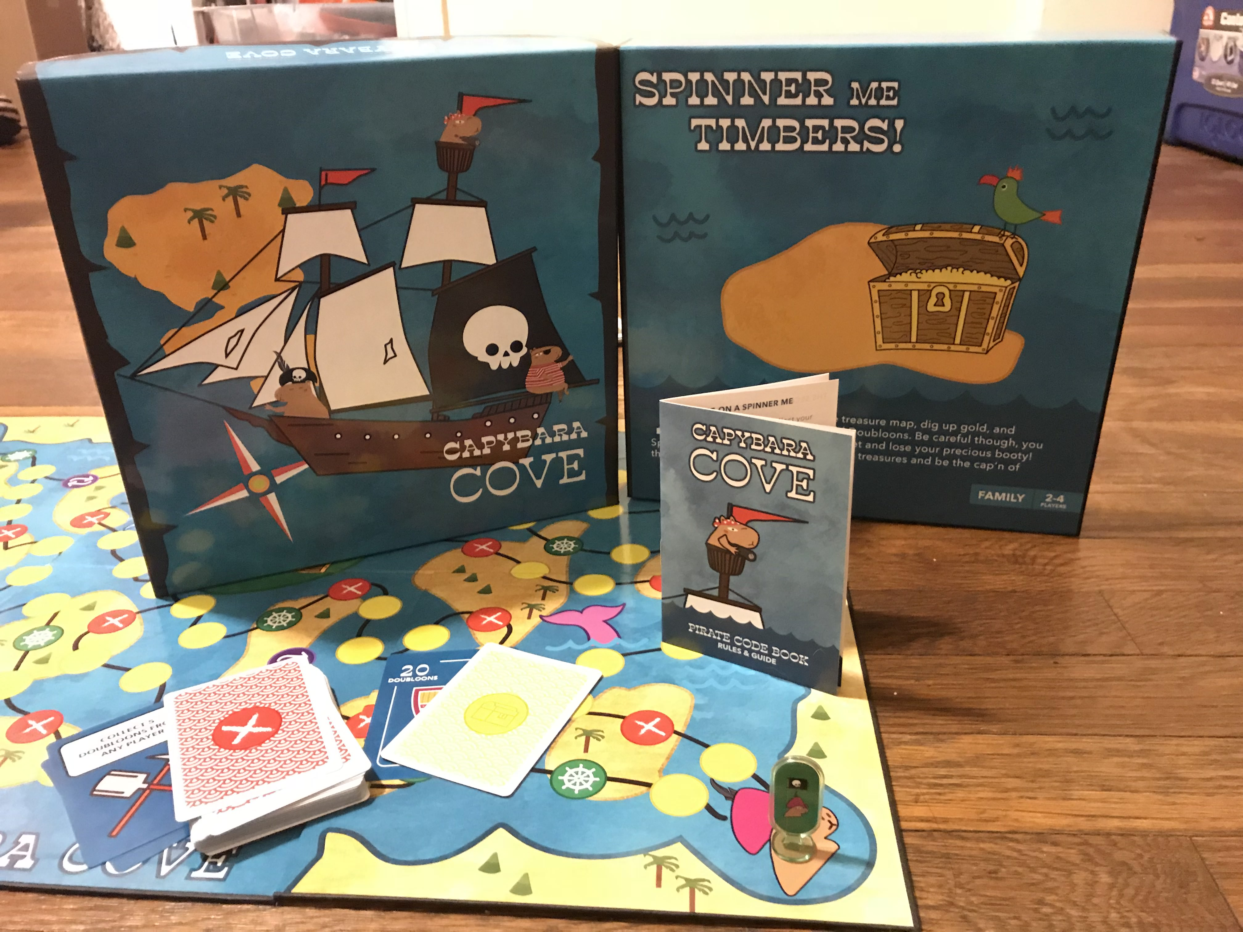 Capybara Cove Board Game